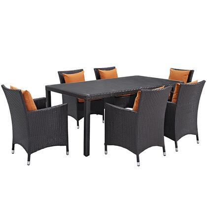 Modway EEI2199EXPORASET Rectangular Shape Patio Sets