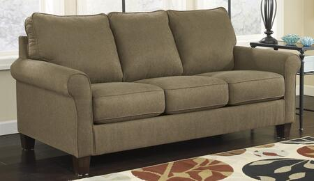 Milo Italia MI-7848DTMP Darryl Queen Sleeper Sofa with Fabric Upholstery, 3 Loose Seat Cushions and Upgraded Mattress in