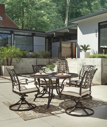 Signature Design by Ashley P456RDT4SC Burnella Patio Sets