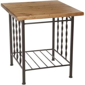 Stone County Ironworks 901165DPN  End Table