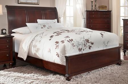 Broyhill HAYDENSLEIGHBEDDCQ Hayden Place Series  Queen Size Sleigh Bed