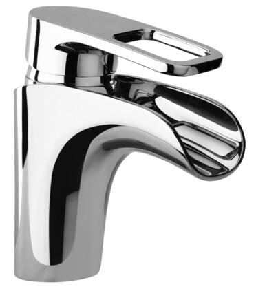 Jewel Faucets 10212XX Single Loop Handle Lavatory Faucet With Waterfall Spout