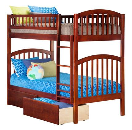 Atlantic Furniture AB64144  Twin Size Bunk Bed