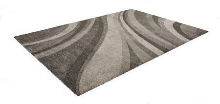 Citak Rugs 3730-050X Riverside Collection - Hills - Grey