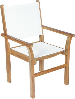 Royal Teak Collection CAPX Captiva Sling Stacking Chair