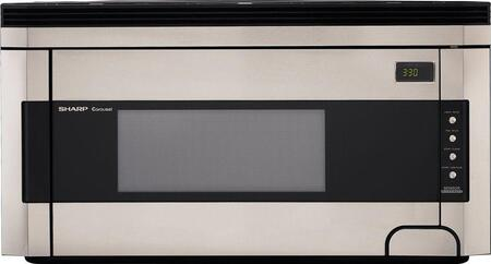 Sharp R1514T 1.5 cu. ft. Capacity Over the Range Microwave Oven
