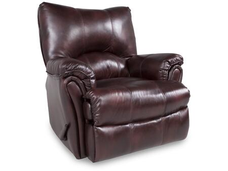 Lane Furniture 2053S186598730 Alpine Series Transitional Leather Wood Frame  Recliners