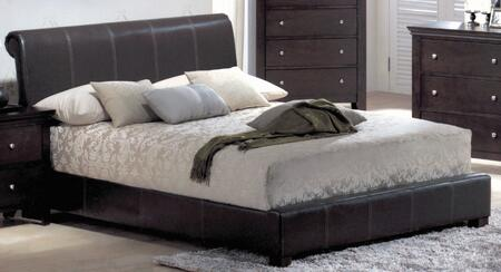 Yuan Tai MN4010Q Montgomery Series  Queen Size Sleigh Bed