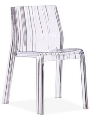 Zuo 106360SET Ruffle Dining Room Chairs