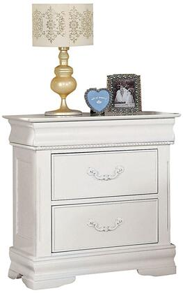Acme Furniture 30129 Classique Series Rectangular Wood Night Stand