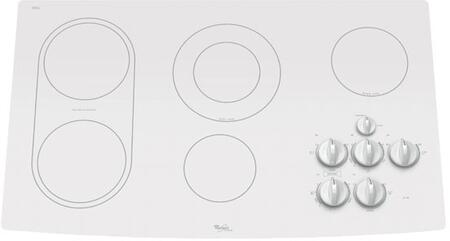 Whirlpool GJC3634RP Gold Series  Electric Cooktop, in White