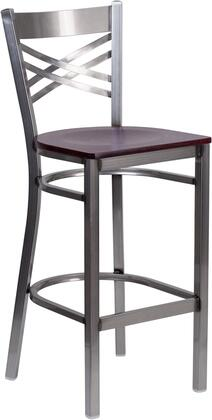 Flash Furniture XU6F8BCLRBARMAHWGG Hercules Series Commercial Not Upholstered Bar Stool