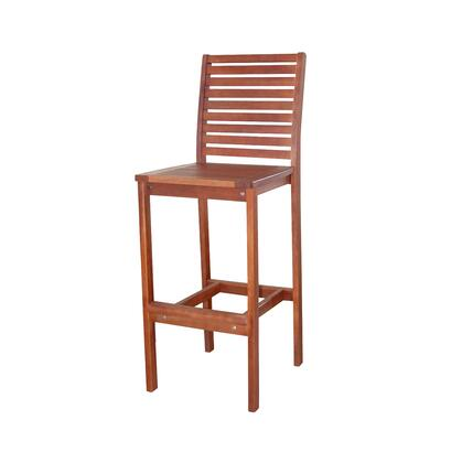 Vifah V495  Wood Frame  Patio Side Chair