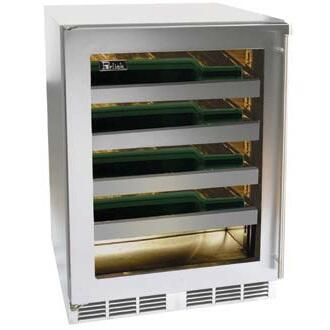 "Perlick HH24WS4LDNU 23.875"" Built-In Wine Cooler"
