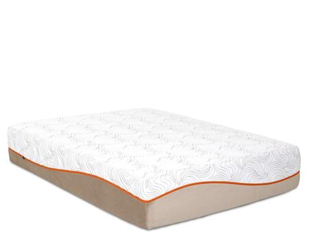 """Enso Picasso PICASSO 13"""" Mattress with Removable Tencel Zip Cover, 3"""" PureGel Plus Gel Memory Foam and 7"""" Comfort Support Core"""