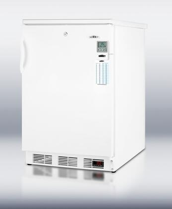 Summit FF6L7BIMEDDT MEDDT Series Compact Refrigerator with 5.5 cu. ft. Capacity in White