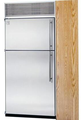 Northland 36TFSPL Built In Counter Depth Top Freezer Refrigerator with 23.6 cu. ft. Total Capacity 8 Glass Shelves 7.3 cu. ft. Freezer Capacity
