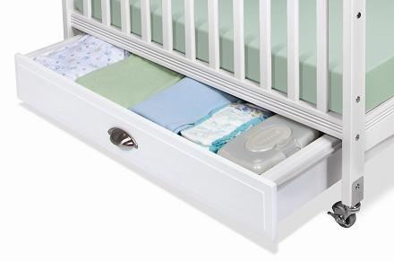 "Foundations Serenity Series 4034XXX 36"" EZ Store Crib Drawer with Hooded Drawer Pull"