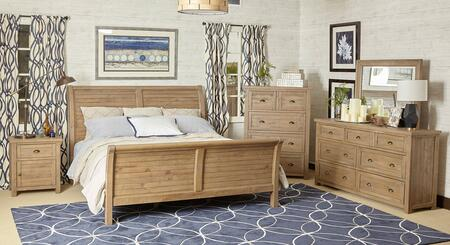 Jofran 943KSBDMN Slater Mill King Bedroom Sets