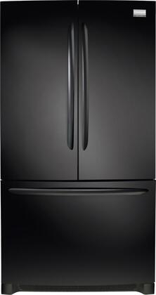 Frigidaire FGUN2642LE Gallery Series  French Door Refrigerator with 25.8 cu. ft. Total Capacity 4 Glass Shelves