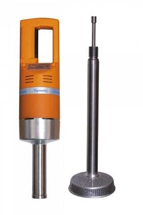 """Dynamic PP002X PP97 Plus Ricer /Food Mill Detachable With 460 Watts, 500 RPM, 22.5"""" Stainless Steel Perforated Grid Foot, Stainless Steel Blade, in Orange"""