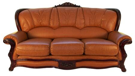 J. Horn 989BROWNS 989 Series Stationary Leather Sofa