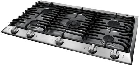Dacor DCT365SNGH Distinctive Series Natural Gas Sealed Burner Style Cooktop, in Stainless Steel