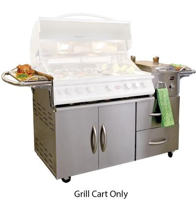 Grilly Cart Only, Grill Head and Side Burners Sold Separately