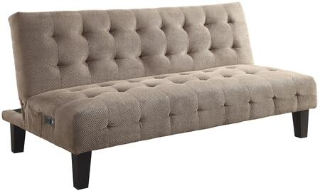 Coaster 500295 Sofa Beds and Futons Series Convertible Fabric Sofa
