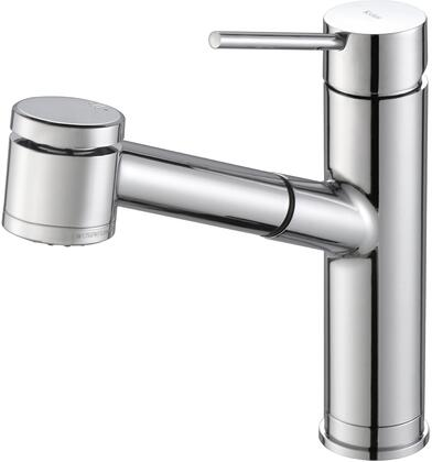 Kraus KPF2610 Oletto Series Pull-Out Kitchen Faucet with Solid Brass Construction, QuickDock Technology, and Ceramic Cartridge