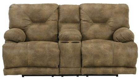 Catnapper 4389122849132849 Voyager Series Faux Leather Reclining with Metal Frame Loveseat