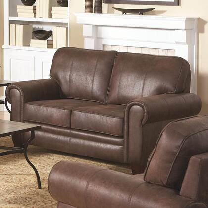 Coaster 504202 Bentley Series Microfiber Stationary with Wood Frame Loveseat