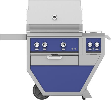 48 in. Deluxe Grill with Side Burner   Prince