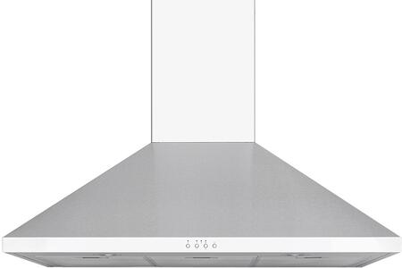 Windster WS-62N Stainless Steel Wall Mount Range Hood with High-Performance 3 speed enclosed squirrel cage motor