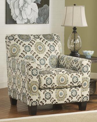 Signature Design by Ashley 2880021 Corley Series Armchair Fabric Wood Frame Accent Chair