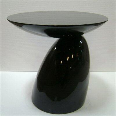 Fine Mod Imports FMI1145BLACK modern/contemporary Oval End Table