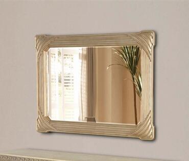Yuan Tai GA4250M Gabrielle Series Rectangular Landscape Wall Mirror