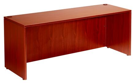 "Boss N104 48"" Desk Shell with High Pressure Laminate Shell"
