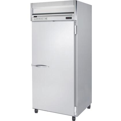 HRS1W-1 One Section [Solid Door] Reach-In Refrigerator, 34 cu.ft. capacity, Stainless Steel Exterior and Interior Finish