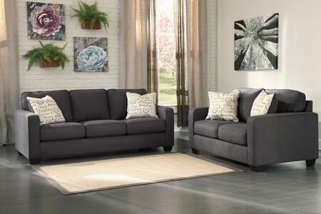 Milo Italia MI8665SLCHAR Elisha Living Room Sets
