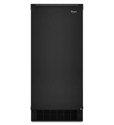 Whirlpool GI15NDXZB Gold Series Freestanding Ice Maker with 50 lbs. Daily Ice Production, 25 lbs. Ice Storage, in Black