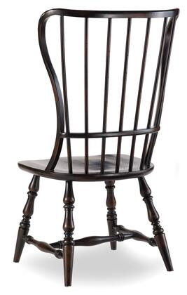 Sanctuary Spindle Side Chair Ebony