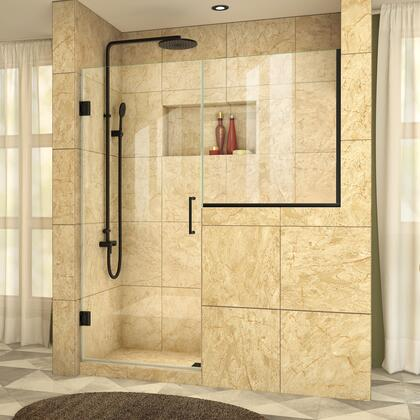 UnidoorPlus Shower Door 39 30D 30BP 09