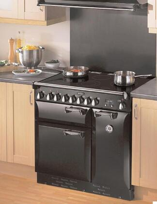 AGA ALEG36ECRM Legacy Series Slide-in Electric Range with Smoothtop Cooktop, 1.8 cu. ft. Primary Oven Capacity, in Cream