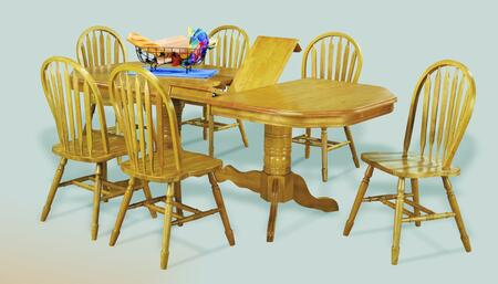 Sunset Trading DLUTCP4284820LO7PC Sunset Selections Dining R