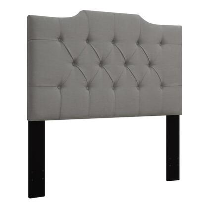 "Pulaski DS-D014-270x 77"" Fabric Upholstered Headboard for King Bed with Button Tufting in"