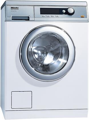"Miele PW6068x 24"" Little Giant Professional Series Front Load Washer with 11 Wash Cycles, 1400 RPM, 15 Lbs. Capacity, Automatic Load Control, 24-Hour Delay Start and Honeycomb Drum Light, in"