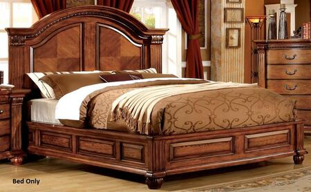Furniture of America CM7738EKBED Bellagrand Series  King Size Bed