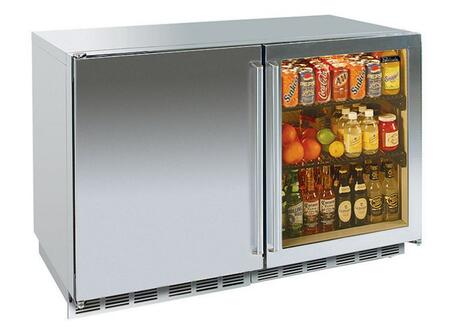 Perlick HP48FRS2L4RDNU Signature Series Counter Depth Side by Side Refrigerator with 12.3 cu. ft. Capacity