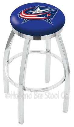 Holland Bar Stool L8C2C25COLBLU Residential Vinyl Upholstered Bar Stool